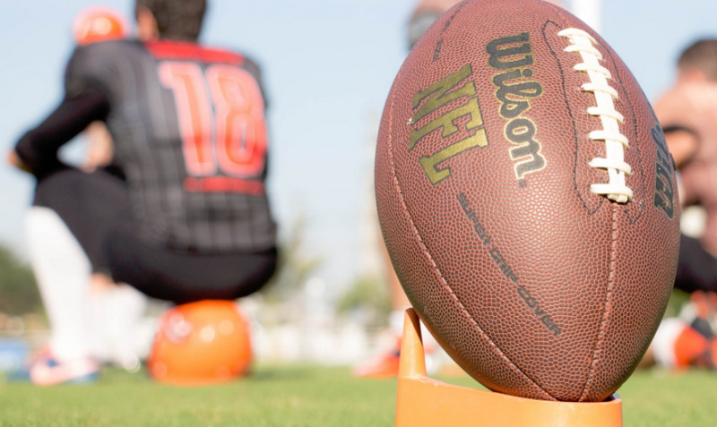Luật về sân thi đấu bóng bầu dục của Mỹ