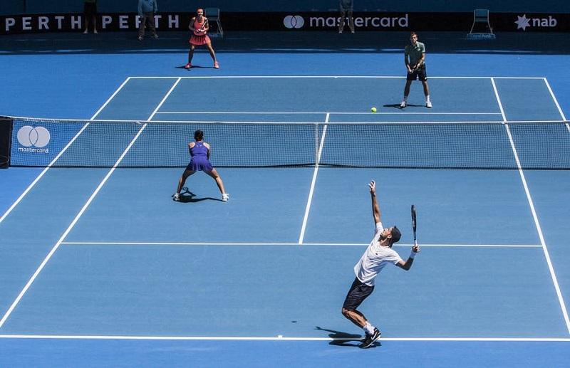 Luật chơi Tennis đánh đôi và luật tính điểm tennis cơ bản
